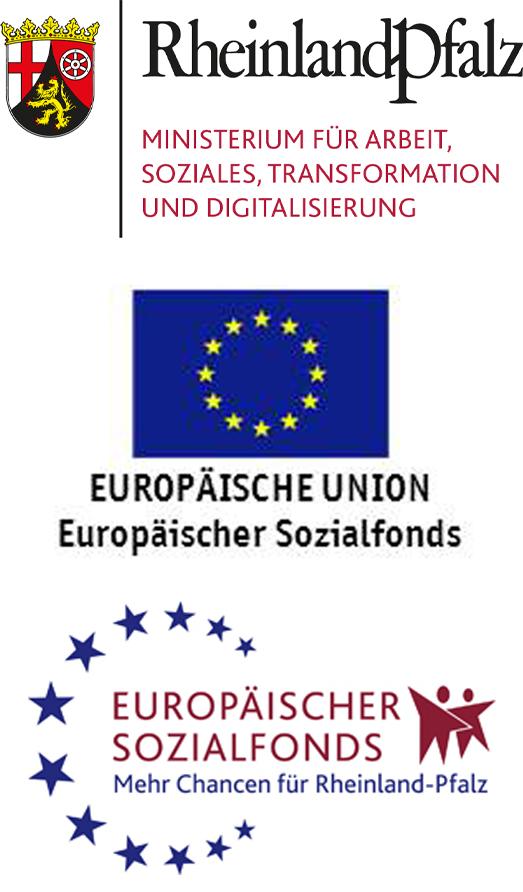 """Das Projekt """"DigitalFIT in Rheinland-Pfalz"""" wird gefördert durch das Ministerium für Arbeit, Soziales, Transformation und Digitalisierung Rheinland-Pfalz (MASTD) aus Mitteln des EU-Hilfsprogramms REACT-EU. Mit dem Hilfsprogramm REACT-EU stellt die Europäische Union zusätzliche Mittel zur Verfügung, um die Folgen der Corona-Pandemie auf die Beschäftigung und den Arbeitsmarkt abzumildern."""